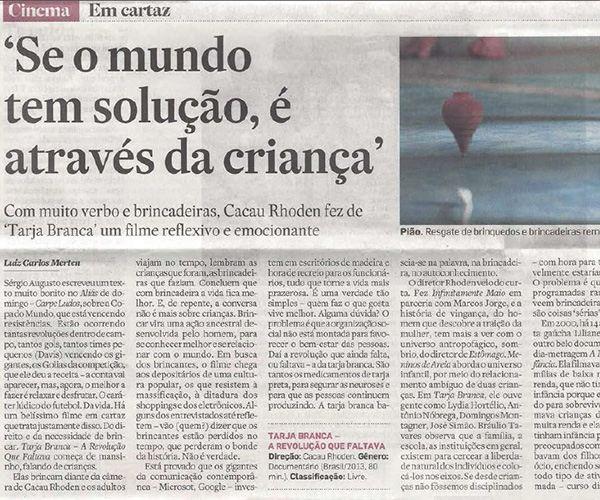 Crítica Luiz Carlos